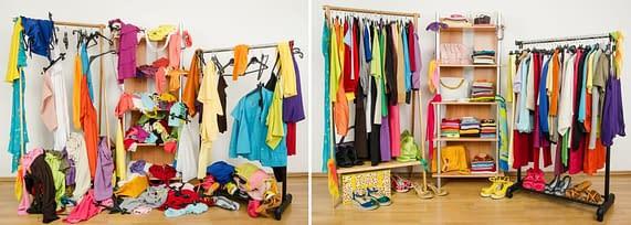 De-Clutter Closet